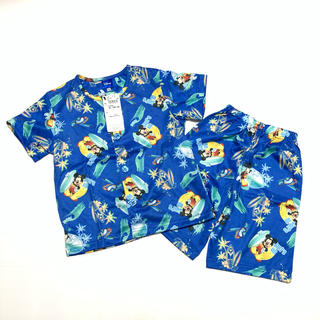Disney - No.26 新品 Disney ミッキー 半袖上下セット パジャマ