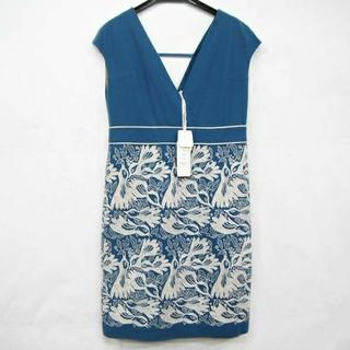 ミナペルホネン(mina perhonen)のミナペルホネン carnival ジャンパースカート 未使用 タグ付き(ひざ丈ワンピース)