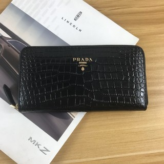 PRADA - PRADA ラウンドファスナー長財布