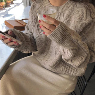 TODAYFUL - Creme loose knit