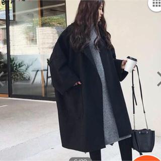 ZARA - 新品タグ付 オーバサイズ チェスター コート