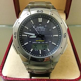 カシオ(CASIO)のCASIO 腕時計 カシオ wave ceptor WVA-470(腕時計(アナログ))