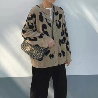TODAYFUL - Melia leopard cardigan