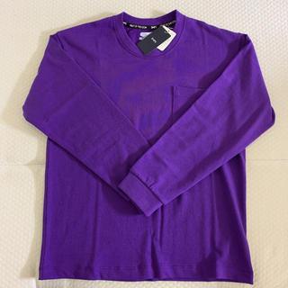 シップス(SHIPS)の【FRUIT OF THE LOOM×SHIPS】ロングTシャツ  パープル(Tシャツ/カットソー(七分/長袖))