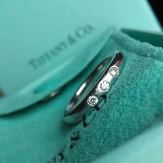 Tiffany & Co. - ティファニー、ダイヤリング