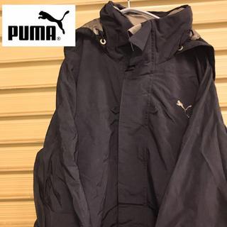 PUMA - PUMA プーマ ナイロンジャケット スイングトップ ブルゾン 黒 XL 90s