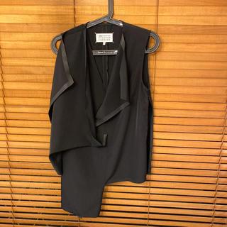 マルタンマルジェラ(Maison Martin Margiela)のマルジェラ  変形トップス サイズ42(シャツ/ブラウス(半袖/袖なし))
