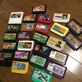 任天堂 - ファミコンソフトまとめ売り セット