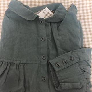 SM2 - TSUHARU 新品 ワイドシャツブラウス ミント