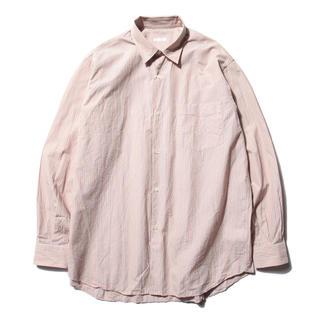 COMOLI - 【18ss/希少品】comoli コモリ ピンクストライプシャツ サイズ 2