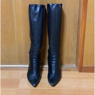 ダイアナ(DIANA)のDIANA ロングブーツ 黒 ブラック 21.5㎝(ブーツ)