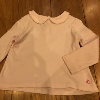 PETIT BATEAU - プチバトー ブラウス カットソー 24m 86cm tシャツ