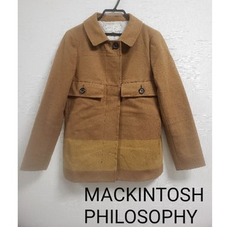 マッキントッシュフィロソフィー(MACKINTOSH PHILOSOPHY)のMACKINTOSH PHILOSOPHYコート   キャメル S~Mサイズ(トレンチコート)