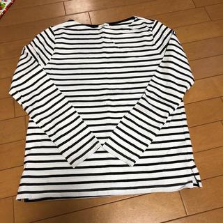 ジーユー(GU)のGU ボーダーロンtシャツ (Tシャツ(長袖/七分))