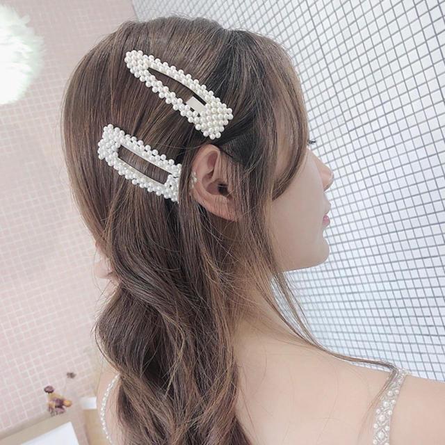 ZARA(ザラ)のお買い得!!大人気パールピン 5個セット☆ ヘアピン  新品 レディースのヘアアクセサリー(ヘアピン)の商品写真