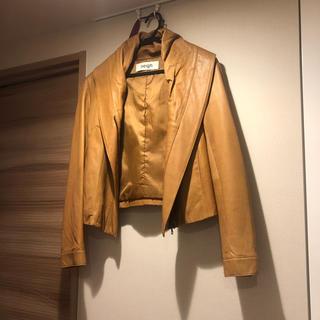 H.P.FRANCE - アッシュペーフランスのラムレザーのジャケット