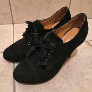 プールサイド(POOL SIDE)のプールサイドPOOL SIDE▲ ショートブーツ黒 24cm(ブーツ)