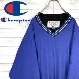 Champion - 【レア】チャンピオン☆ワンポイントロゴ入りプルオーバーナイロンジャケット