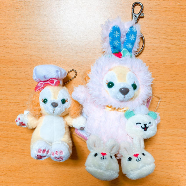 Disney(ディズニー)の香港ディズニーランド限定 クッキー ぬいぐるみ エンタメ/ホビーのおもちゃ/ぬいぐるみ(ぬいぐるみ)の商品写真