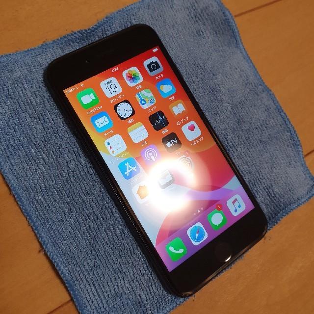 Apple(アップル)のiPhone7 256GB simロック解除済み au スマホ/家電/カメラのスマートフォン/携帯電話(スマートフォン本体)の商品写真