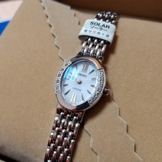 SEIKO - セイコー エクセリーヌ SWCQ047 ダイヤモンドレディース腕時計