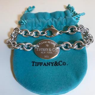 Tiffany & Co. - ティファニー リターントゥ オーバルタグ ブレスレット925