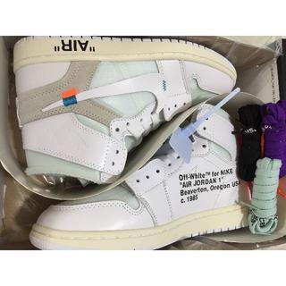 ナイキ(NIKE)の28.5cm Off white × Nike Jordan 1 NRG(スニーカー)