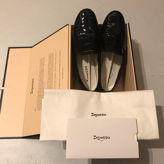 repetto - reppet Michael レペット マイケル エナメル 38