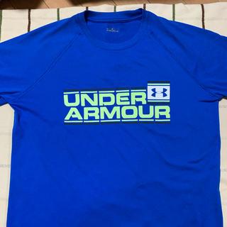 UNDER ARMOUR - アンダーアーマー 青 Tシャツ