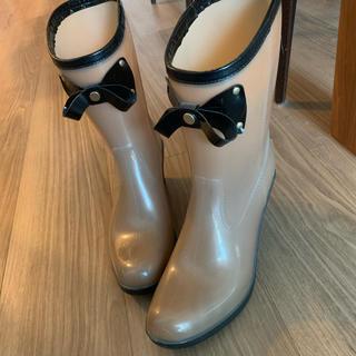 DIANA - ダイアナ Diana ショートレインブーツ M 雨靴