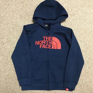 THE NORTH FACE - ノースフェイス スウェットロゴフルジップ  キッズ 120サイズ コズミックブル