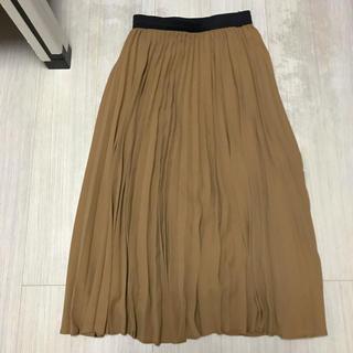 コムサイズム(COMME CA ISM)のコムサイズム ロングスカート ギャザースカート キャメル(ロングスカート)