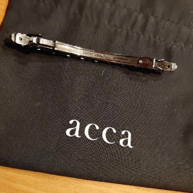 acca(アッカ)のacca ベリーバレッタ アンティークピンク レディースのヘアアクセサリー(バレッタ/ヘアクリップ)の商品写真