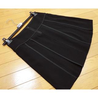 マックスマーラ(Max Mara)のマックスマーラ プリーツスカート ブラック(ミニスカート)