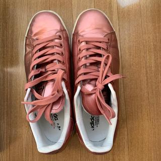 adidas - アディダス スタンスミス メタリックピンク  25cm(ユニセックス)
