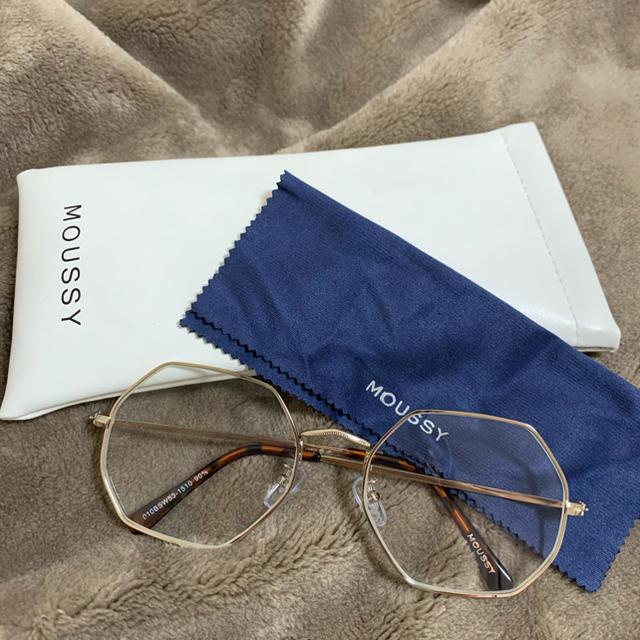 moussy(マウジー)のmoussy だてメガネ レディースのファッション小物(サングラス/メガネ)の商品写真
