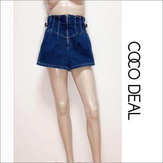 COCO DEAL - COCO DEAL ハイウエスト デニム ショートパンツ♡snidel ZARA