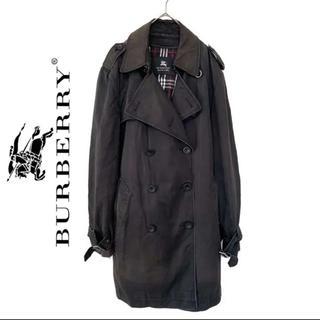 BURBERRY BLACK LABEL - Burberry バーバリー トレンチコート メンズ チェック柄 ベスト付