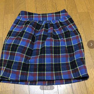 ダブルクローゼット(w closet)のダブルクローゼットのスカート(ひざ丈ワンピース)