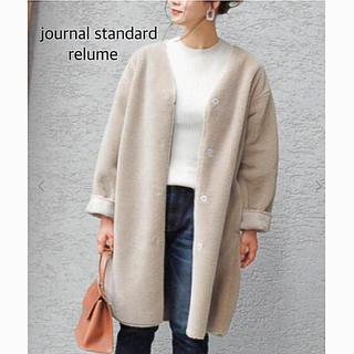 JOURNAL STANDARD - ☆journal standard  relume /Vネックボアコート 36☆