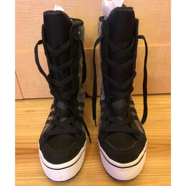 adidas(アディダス)のadidas スパンコールスニーカー 23.5 新品 レディースの靴/シューズ(スニーカー)の商品写真