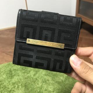 ジバンシィ(GIVENCHY)のGIVENCHY ジバンシィ ロゴ 柄  二つ 折り 財布(財布)