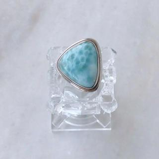 ラリマーリング 天然石 ラリマー シルバーリング (リング(指輪))