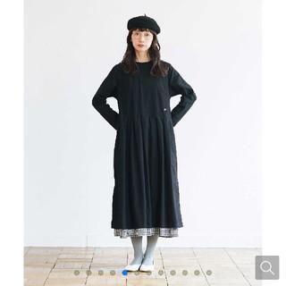 FELISSIMO - サニークラウズ 裾からギンガムワンピース 新品未使用