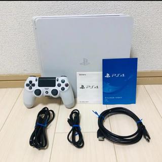 PlayStation4 - PS4 プレステ4 本体 ホワイトCUH-2100BB02 1TB 中古