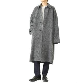 タグ付新品 YOKE 19aw バルカラーコート バルカラー コート ニット
