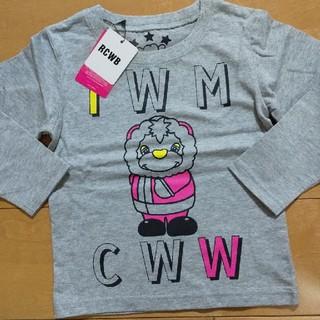 ロデオクラウンズ(RODEO CROWNS)の新品  タグつき  ロデオ  長袖  Tシャツ  ロンティ  定価3890  M(Tシャツ/カットソー)
