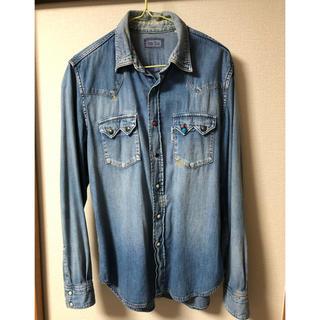 ブルーブルー(BLUE BLUE)のハリウッドランチマーケット デニムシャツ(シャツ)