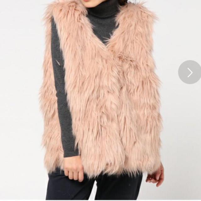 Kastane(カスタネ)のkastane シャギーベスト レディースのジャケット/アウター(毛皮/ファーコート)の商品写真