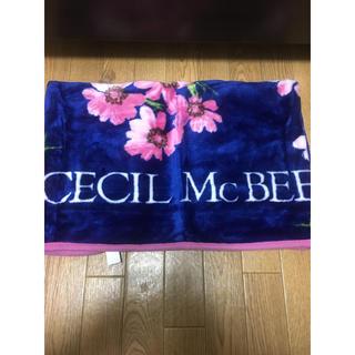 セシルマクビー(CECIL McBEE)のセシルマクビー CECIL McBEE ブランケット 新品タグ付き(毛布)